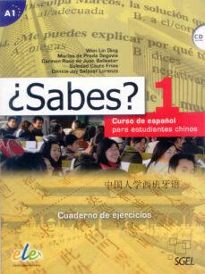 Libros de audio descargables en línea gratis ¿SABES? 1 LIBRO DE EJERCICIOS + CD de