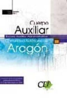 Concursopiedraspreciosas.es Cuerpo Auxiliar Escala Auxiliar Administrativa. Comunidad Autonom A De Aragon. Temariovol. I. Image