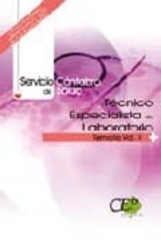 Carreracentenariometro.es Tecnico Especialista De Laboratorio. Servicio Cantabro De Salud. Temario Volumen Ii Image