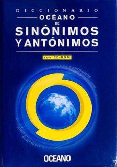 DICCIONARIO DE SINÓNIMOS Y ANTÓNIMOS - VVAA | Adahalicante.org