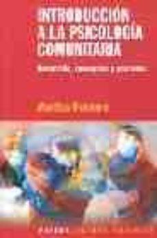 Colorroad.es Introduccion A La Psicologia Comunitaria: Desarrollo, Conceptos Y Procesos Image