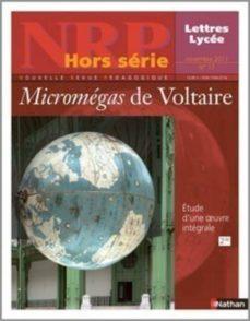 nrp lycée hors-série - micromégas de voltaire - novembre 2011 (format pdf) (ebook)-9782091113333