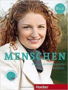 Descarga de libros electrónicos txt móviles MENSCHEN B1.2 KURSBUCH + DVD-ROM (ALUMNO)