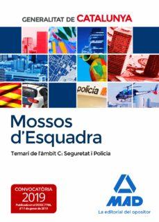 Followusmedia.es Mossos D Esquadra: Temari De L´ambit C: Seguretat I Policia Image