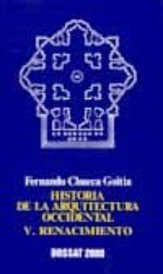 renacimiento (t.v)-fernando chueca goitia-9788423706433