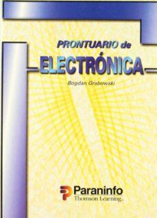 Descargar PRONTUARIO DE ELECTRONICA gratis pdf - leer online
