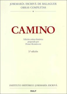 camino (ed. critico-historica) (3ª ed.)-jose maria escriva de balaguer-9788432135033