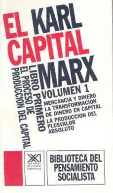 Milanostoriadiunarinascita.it Libro Primero. El Proceso De Produccion Del Capital I (1) Image
