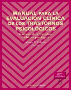 manual para la evaluación clínica de los trastornos psicológicos (ebook)-vicente e. caballo manrique-9788436831733