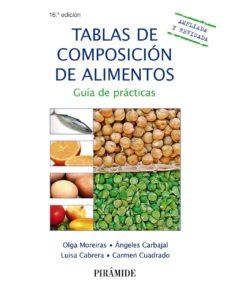 tablas de composicion de alimentos (18ª ed.): guia practica-olga moreiras tuni-angel carbajal-9788436836233