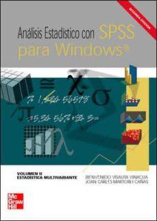 Ojpa.es Analisis Estadistico Con Spss Para Windows (2ª Ed.)(vol. Ii): Est Adistica Multivariante (Incluye Cd) Image