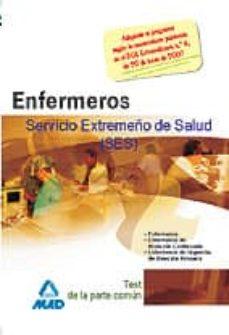 Padella.mx Enfermeros Del Servicio Extremeño De Salud (Ses): Test De La Part E Comun Image