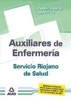 Bressoamisuradi.it Auxiliares De Enfermeria Del Servicio Riojano De Salud. Temario P Arte Especifica Image