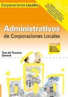 Followusmedia.es Administrativos De Las Corporaciones Locales. Test Del Temario Ge Neral Image