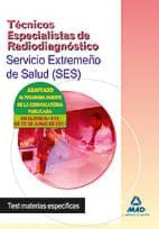 Javiercoterillo.es Tecnicos Especialistas De Radiodiagnostico Del Servicio Extremeño De Salud (Ses). Test Materias Especificas Image