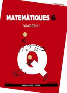 Mrnice.mx Matemàtiques 6º Educacion Primaria Quadern 1 Illes Balears Image