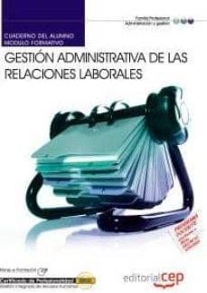 Bressoamisuradi.it Cuaderno Del Alumno Gestión Administrativa De Las Relaciones Labo Rales. Certificados De Profesionalidad Image