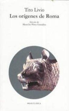 los origenes de roma (libros i - v)-tito livio-9788476003633