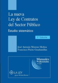 la nueva ley de contratos del sector público (ebook)-francisco pleite guadamillas-jose antonio moreno molina-9788481268133