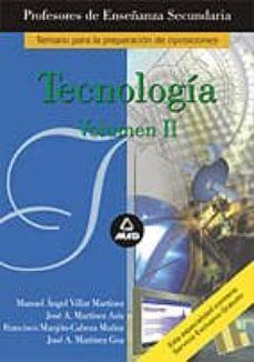 Scintillaemattone.it Tecnologia Para Profesores De Educacion Secundaria. Vol. 2 Image