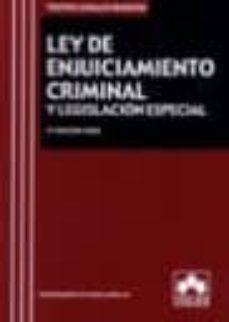 Chapultepecuno.mx Ley De Enjuiciamiento Criminal Y Legislacion Especial 5ª Edicion 2006 Image