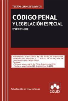 Canapacampana.it Codigo Penal Y Legislacion Especial (9ª Ed.) Image