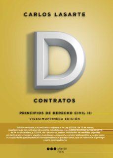 Descargar PRINCIPIOS DE DERECHO CIVIL TOMO III: CONTRATOS gratis pdf - leer online