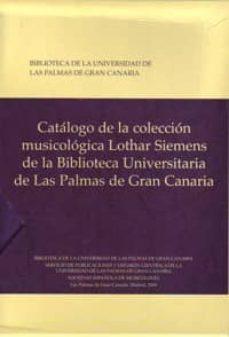 Inmaswan.es Catalogo De La Coleccion Musicologica Lothar Siemens De La Biblio Teca Universitaria De Las Palmas De Gran Canaria 2 Vol (Estuche) Image