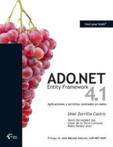 Mrnice.mx Ado.net Entity Framework 4.1 - Aplicaciones Y Servicios Centrados En Datos Image