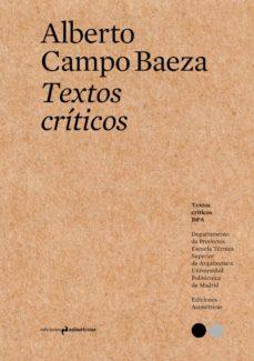 textos criticos 1-alberto campo baeza-9788494630033