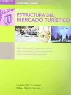 estructura del mercado turistico: guia, informacion y asistencia turistica, agencias de viajes y gestion de eventos. gestion de alojamientos turisticos-lourdes olmos juarez-rafael garcia cebrian-9788497328333