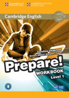 Ebook epub descargas gratuitas CAMBRIDGE ENGLISH PREPARE! 1 WORKBOOK WITH AUDIO de  9780521180443 (Literatura española)