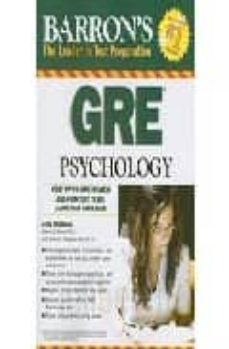 barron s gre psychology : graduate record examination in psycholo gy-edward l. palmer-sharon l. thompson-schill-9780764140143