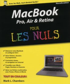 macbook pro, air, retina pour les nuls (ebook)-mark l chambers-9782754065443