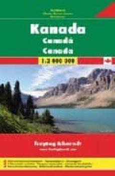 canada, mapa de carreteras (1:3000000) (freytag & berndt)-9783707910643