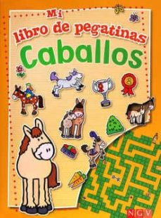 Padella.mx Libro De Pegatinas Caballos Image