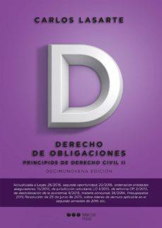 Permacultivo.es Principios De Derecho Civil Tomo Ii (19ª Ed.) Derecho De Obligaciones Image