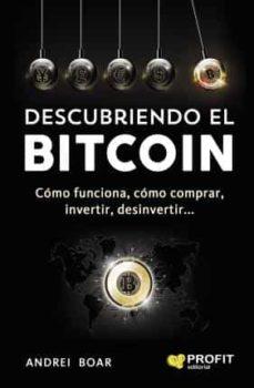 descubriendo el bitcoin-andrei boar boar-9788416904143
