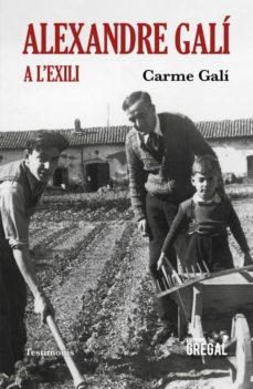 Inmaswan.es Alexandre Galí A L Exili Image