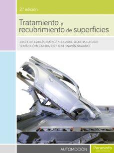 Descargar TRATAMIENTO Y RECUBRIMIENTO DE SUPERFICIES gratis pdf - leer online