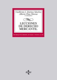 Cdaea.es Lecciones De Derecho Mercantil Image
