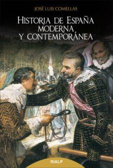historia de españa moderna y contemporánea-jose luis comellas garcia llera-9788432145643