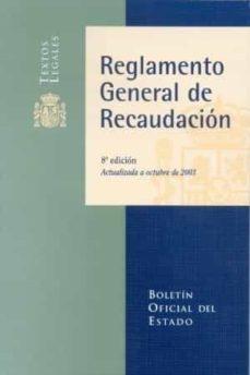 Inmaswan.es Reglamento General De Recaudacion (8ª Ed. Actualizada Octubre 200 3) Image