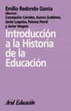 introduccion a la historia de la educacion-9788434426443