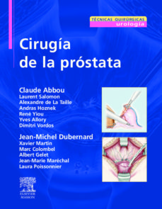 cirugia de la prostata-c. abbou-9788445817643