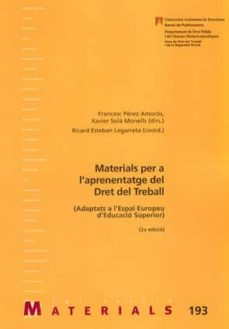 Viamistica.es Materials Per L Aprenentatge Del Dret Del Treball (2a. Ed. 2007) Image