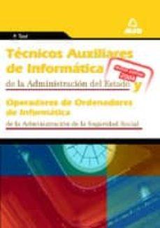 Mrnice.mx Tecnicos Auxiliares De Informatica De La Administracion Del Estad O: Test Del Temario Image