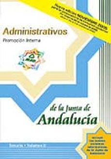 Ojpa.es Administrativo De La Junta De Andalucia: Temario: Promocion Inter Na (Vol. Ii) Image