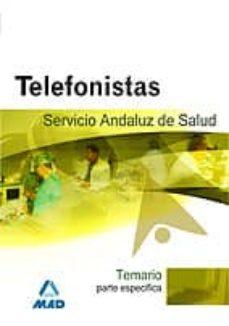 Concursopiedraspreciosas.es Telefonistas Del Servicio Andaluz De Salud. Temario Parte Especif Ica Image
