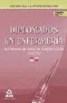 Debatecd.mx Diplomados En Enfermeria Servicio De Salud De Castilla Y Leon (Sa Cyl). Temario Volumen Iv Image